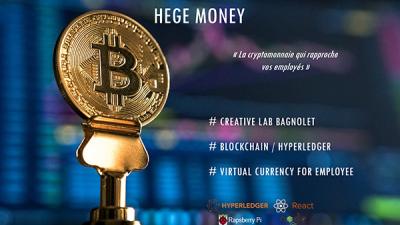 Les outils OAIO tels que le Lab innovation présentent Hegemoney, monnaie virtuelle d'entreprise destinée aux employés