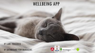 Les outils OAIO tels que le Lab innovation présentent Wellbeing, application destinée aux managers