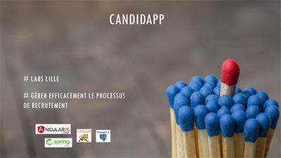 Les outils OAIO tels que le Lab innovation présentent Candidapp, application de gestion du processus de recrutement