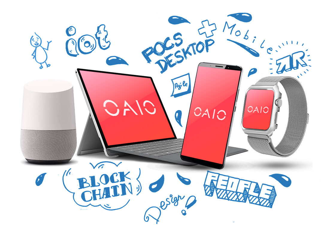 OAIO organise des POC sur supports desktop mobile et objets connectés